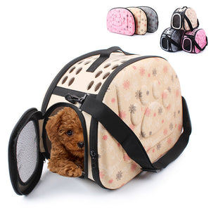 Puppy traveling carrier