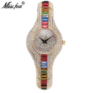 Miss Fox Crystal Women Watch