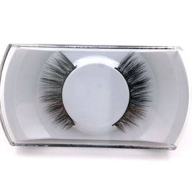 1Pair Natural False Eyelashes