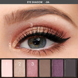FOCALLURE 6 Colors Eyeshadow Smokey Palette