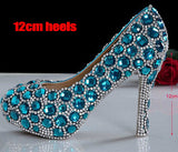 Beautiful Cinderella Crystal Shoes - Buy Shoes Online