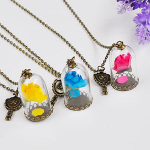 Beauty and the Beast Necklace