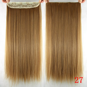 16 cm Long straight hair extensions #27 / 24inches