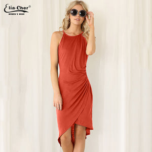 Summer Dress Rust / L
