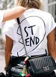 Best Friends T Shirt White ST END / XS