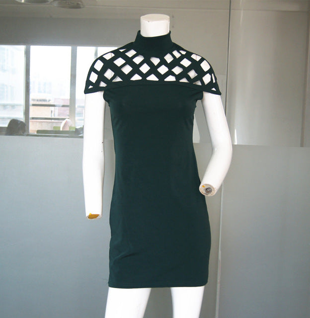 Sexy Summer Casual Dress Green / S