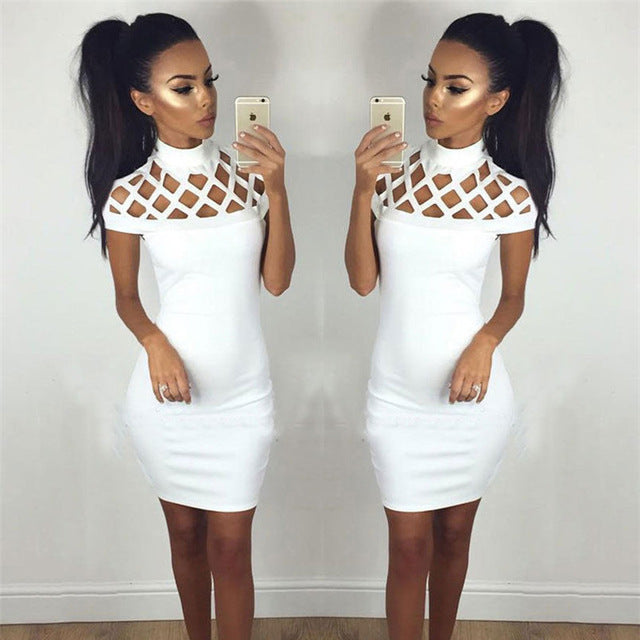 Sexy Summer Casual Dress White / S