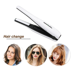 Madami Portable Rechargeable Mini Wireless Hair Straightener Iron Hair