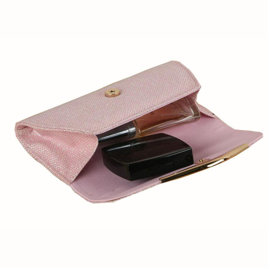 Women Ladies Upscale Evening Party Small Clutch Bag Handbag