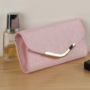 Women Ladies Upscale Evening Party Small Clutch Bag Handbag Default Title