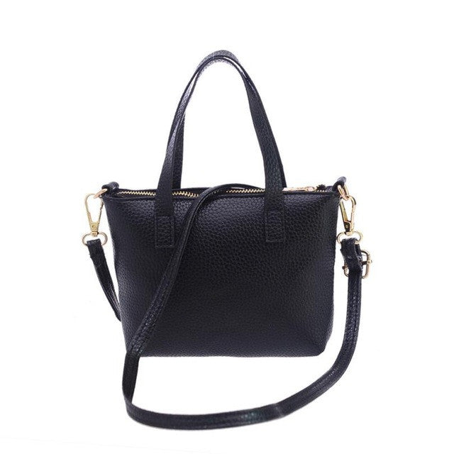 Women Totes Shoulder Bags Handbag Black