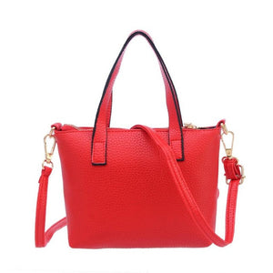 Women Totes Shoulder Bags Handbag Red