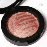 FOCALLURE Natural Face Pressed Blush Powder 6