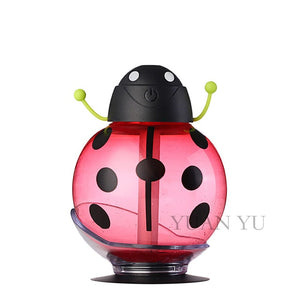 Cartoon USB Aromatherapy Essential Oil Diffuser LED Light Red