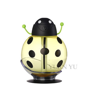 Cartoon USB Aromatherapy Essential Oil Diffuser LED Light Yellow
