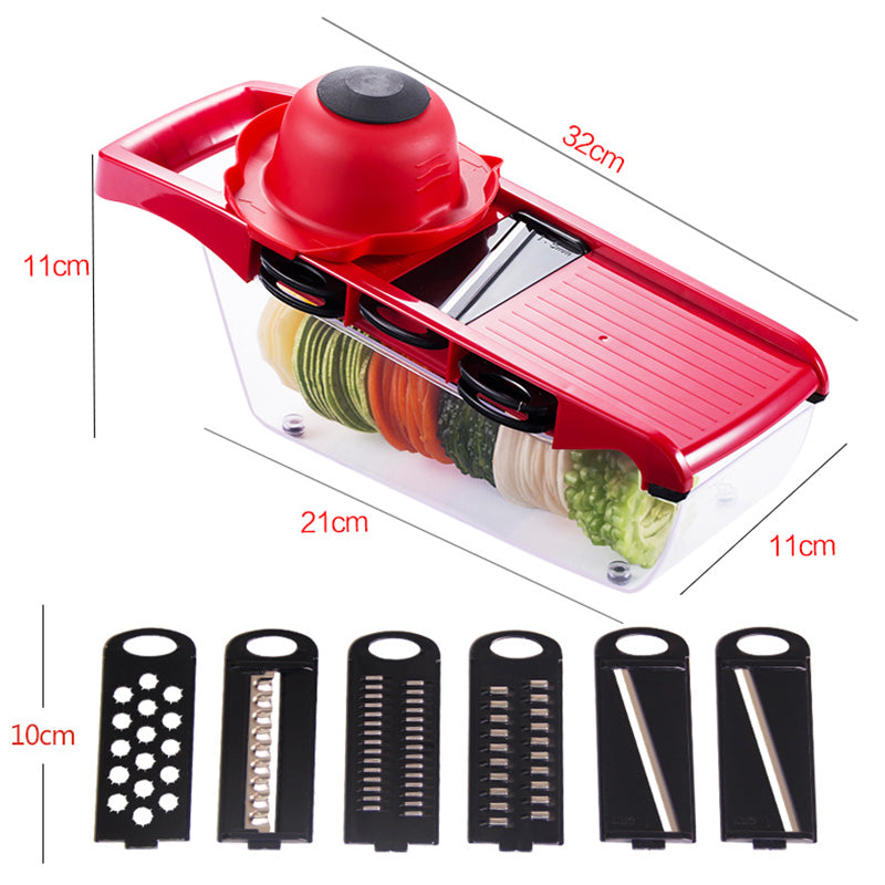 QuickDone 6-1 Vegetable Slicer Cutter