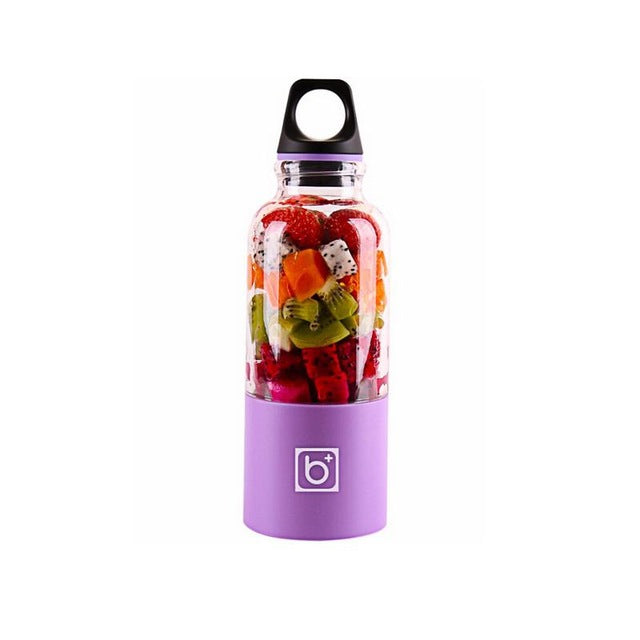 USB PORTABLE BLENDER BOTTLE Purple