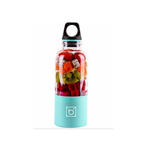 USB PORTABLE BLENDER BOTTLE Blue