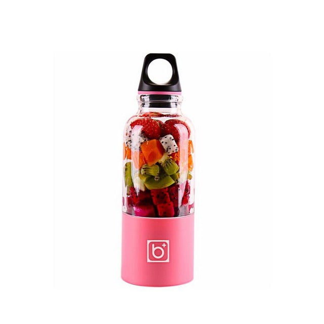 USB PORTABLE BLENDER BOTTLE Pink