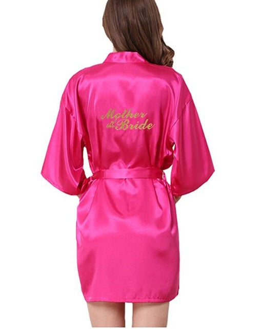 Bridesmaid robes Sleepwear Wedding Nightdress Nightgown As the photo show 9 / S