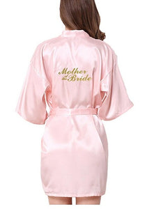 Bridesmaid robes Sleepwear Wedding Nightdress Nightgown As the photo show 11 / S