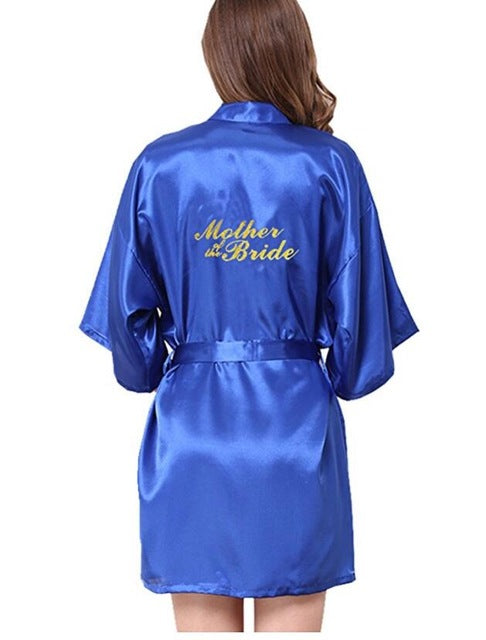 Bridesmaid robes Sleepwear Wedding Nightdress Nightgown As the photo show 14 / S