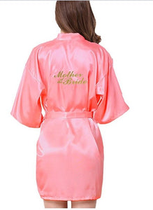 Bridesmaid robes Sleepwear Wedding Nightdress Nightgown As the photo show 16 / S