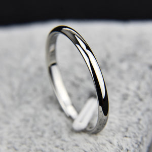 The SLIM Women's Titanium Ring 6 / J6
