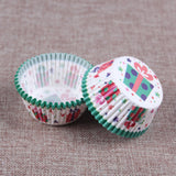 100PCS Muffins Paper Cupcake Wrappers 1