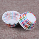 100PCS Muffins Paper Cupcake Wrappers 2