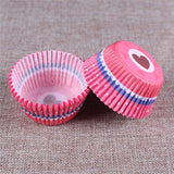 100PCS Muffins Paper Cupcake Wrappers 3