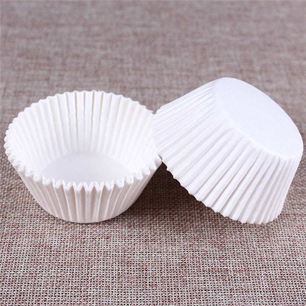 100PCS Muffins Paper Cupcake Wrappers 4