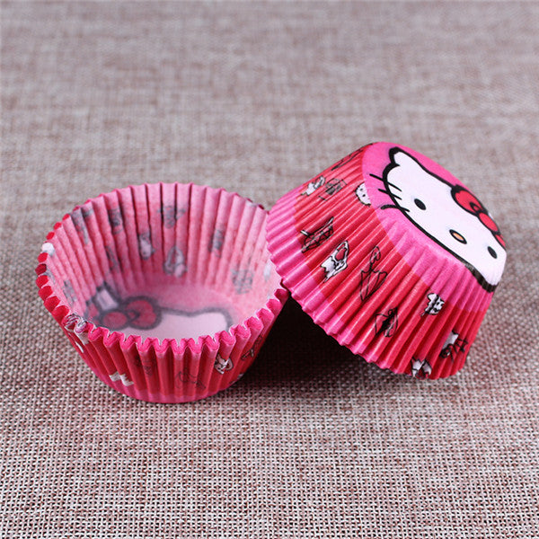100PCS Muffins Paper Cupcake Wrappers 7
