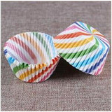 100PCS Muffins Paper Cupcake Wrappers 10