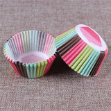 100PCS Muffins Paper Cupcake Wrappers 11