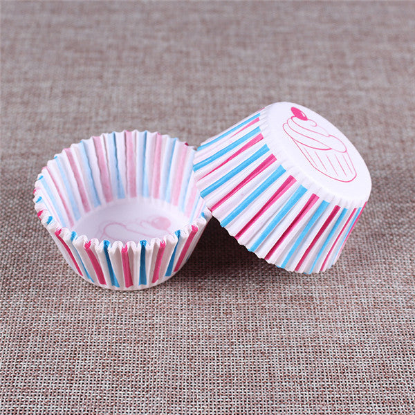 100PCS Muffins Paper Cupcake Wrappers 12