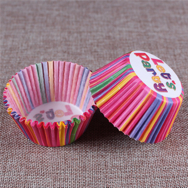 100PCS Muffins Paper Cupcake Wrappers 13