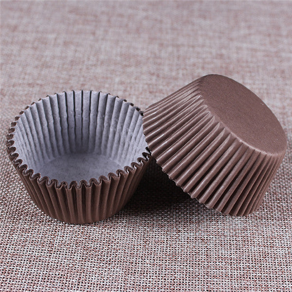 100PCS Muffins Paper Cupcake Wrappers 14