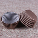 100PCS Muffins Paper Cupcake Wrappers
