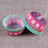 100PCS Muffins Paper Cupcake Wrappers 15
