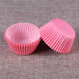 100PCS Muffins Paper Cupcake Wrappers 18