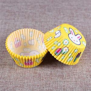 100PCS Muffins Paper Cupcake Wrappers 23
