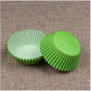 100PCS Muffins Paper Cupcake Wrappers 27