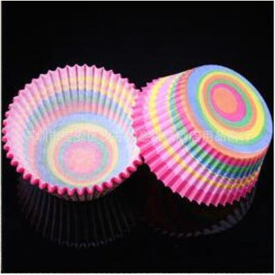 100PCS Muffins Paper Cupcake Wrappers 30