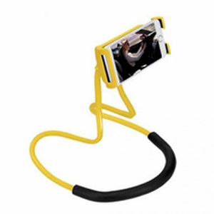 Neck Hanging Smartphone Holder yellow