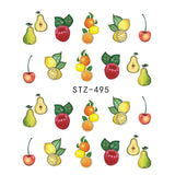 Beautiful Sticker Water Transfer Decals Nail Art STZ495