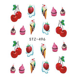 Beautiful Sticker Water Transfer Decals Nail Art STZ496