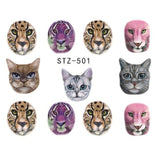 Beautiful Sticker Water Transfer Decals Nail Art STZ501