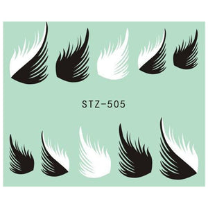 Beautiful Sticker Water Transfer Decals Nail Art STZ505
