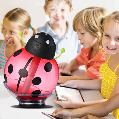 Cartoon USB Aromatherapy Essential Oil Diffuser LED Light